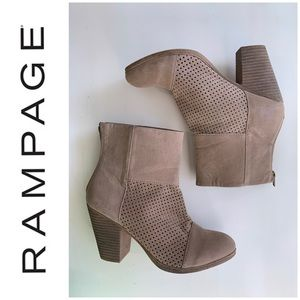 "Rampage ""Viktor"" tan Booties"